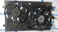 Ventilator radiator Volkswagen Polo 2006  în Petrachioaia, Ilfov Dezmembrari