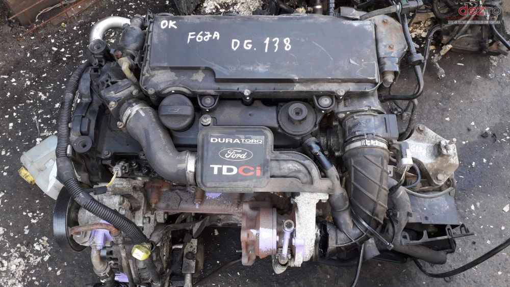 Motor Ford Fiesta V 1  4 Tdci/ Peugeot 1  4 Hdi   Cod F6ja  Piese auto în Galati, Galati Dezmembrari