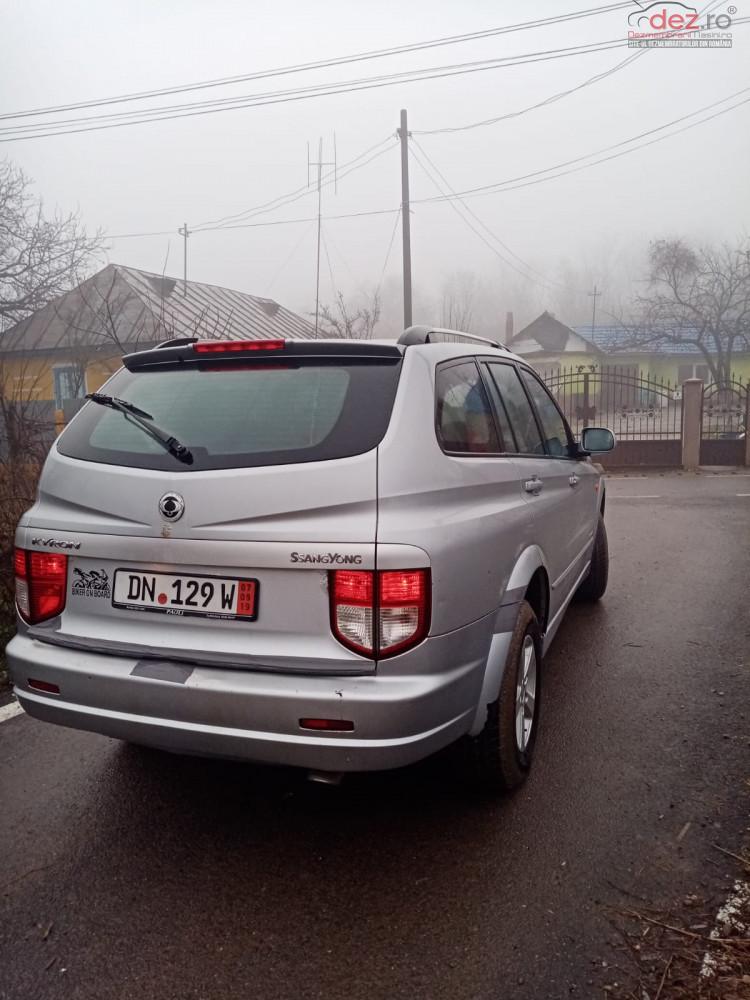 Dezmembrez Ssangyong Kyron Dezmembrări auto în Nicolae Balcescu, Bacau Dezmembrari