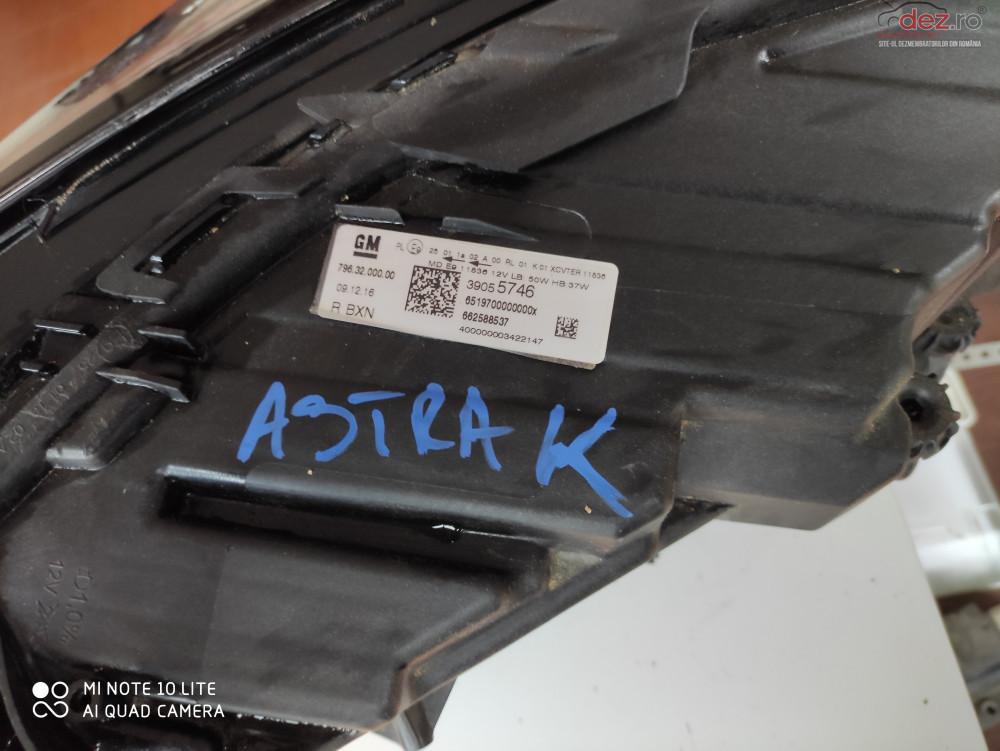 Far Astra K Dreapta 39055746 Piese auto în Botosani, Botosani Dezmembrari