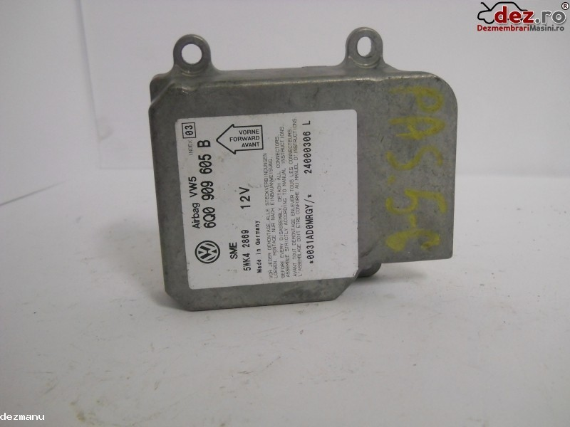 Calculator airbag Volkswagen Passat 2002