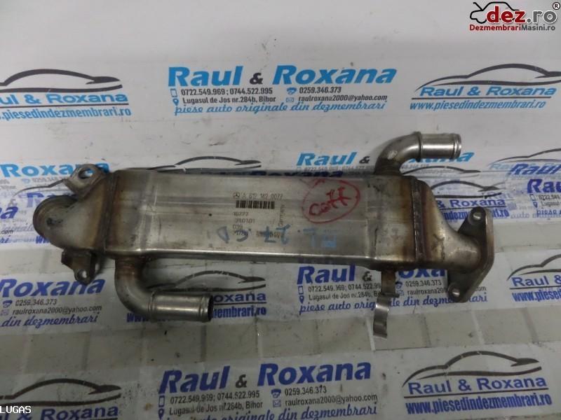 Racitor gaze evacuare Mercedes ML 270 2004 cod a6121420077 Piese auto în Oradea, Bihor Dezmembrari