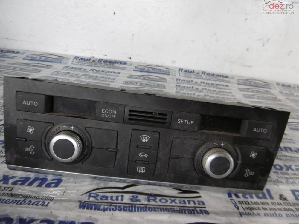 Display Clima Audi A6 2 0tdi  cod 4f2820043p Piese auto în Oradea, Bihor Dezmembrari