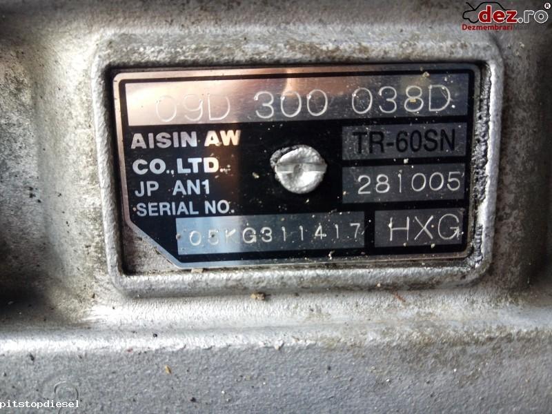 Cutie de viteza automata Audi Q7 2008 cod HXG , 09D300038D