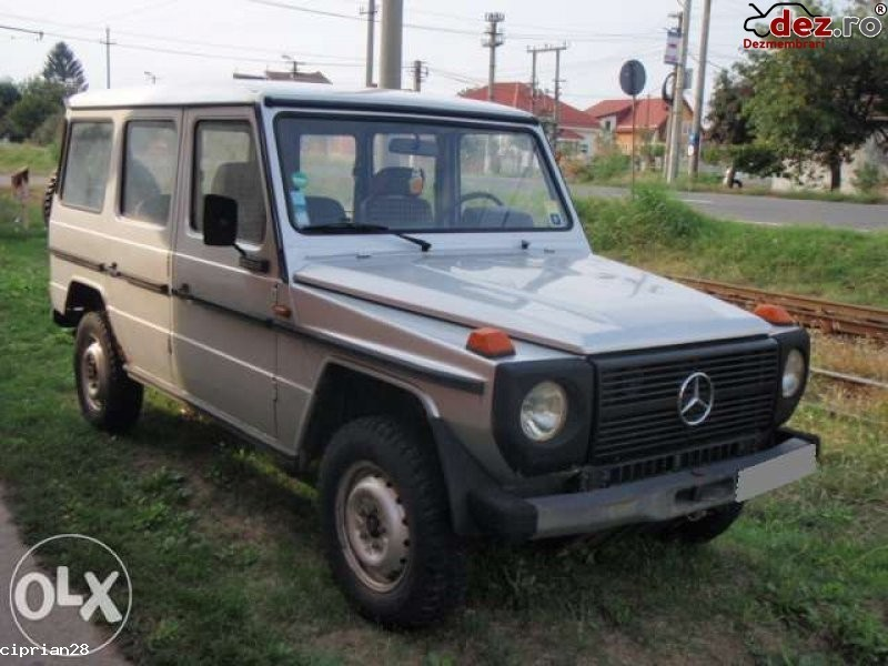 Dezmembrez mercedes g 240 diesel 1986 Dezmembrări auto în Sagu, Arad Dezmembrari
