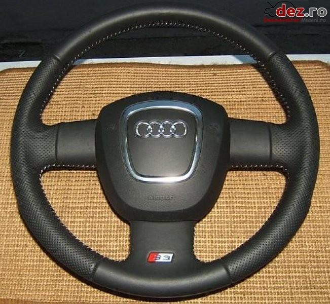 Volan + airbag nou audi s3 2005 2010 * starea produsului nouvolan piele neagra Dezmembrări auto în Aiud, Alba Dezmembrari