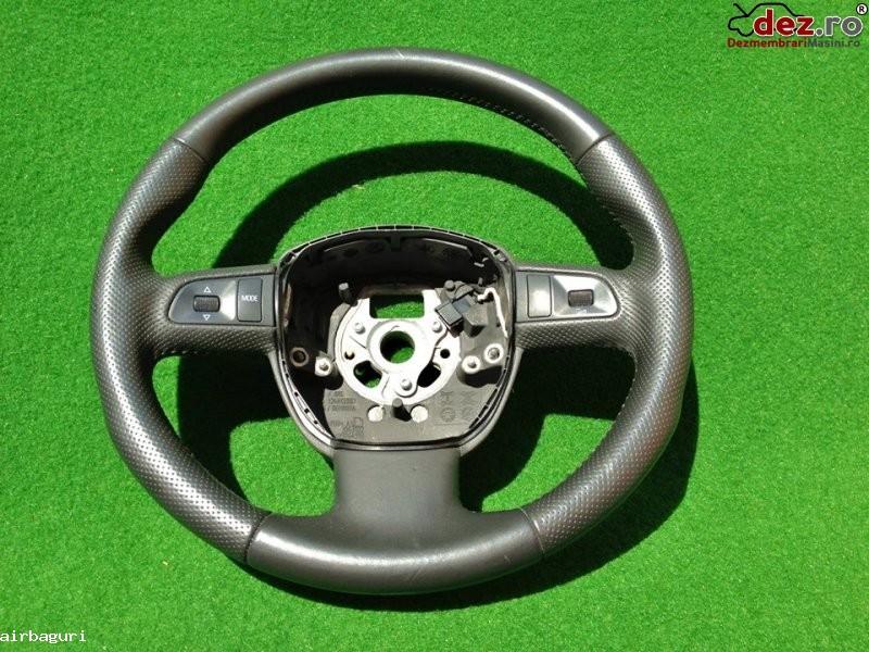 Audi volan a3 si q5 ani fabricatie 2006  2011 piele perforata si comenzi... Dezmembrări auto în Aiud, Alba Dezmembrari