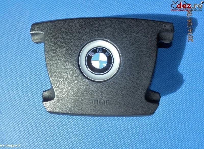 Bmw seria 7 e65 e66 e67 e68 model 2002 2008 airbag in 4 spite negru pret 280 euro Dezmembrări auto în Aiud, Alba Dezmembrari