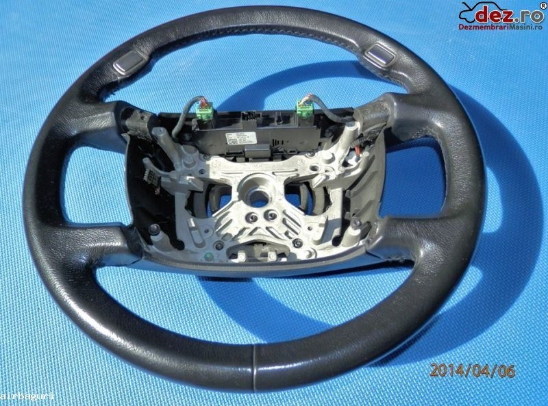 Bmw seria 7 e65 e66 e67 e68 model 2002 2008 volan piele ( lipsesc comenzile ) in 4 Dezmembrări auto în Aiud, Alba Dezmembrari