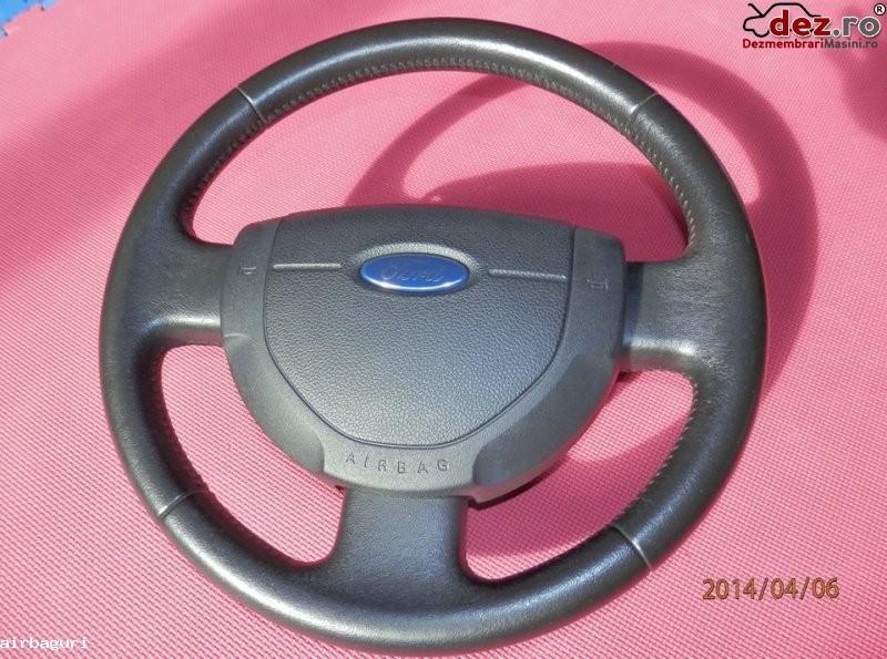 Ford volan piele cu airbag facelift pentru fiesta ani fabricatie 2006 2008 Dezmembrări auto în Aiud, Alba Dezmembrari