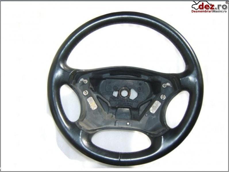 Volan piele neagra mercedes w203   c classe 2001  2006 impecabil   pret   100 e  Dezmembrări auto în Aiud, Alba Dezmembrari