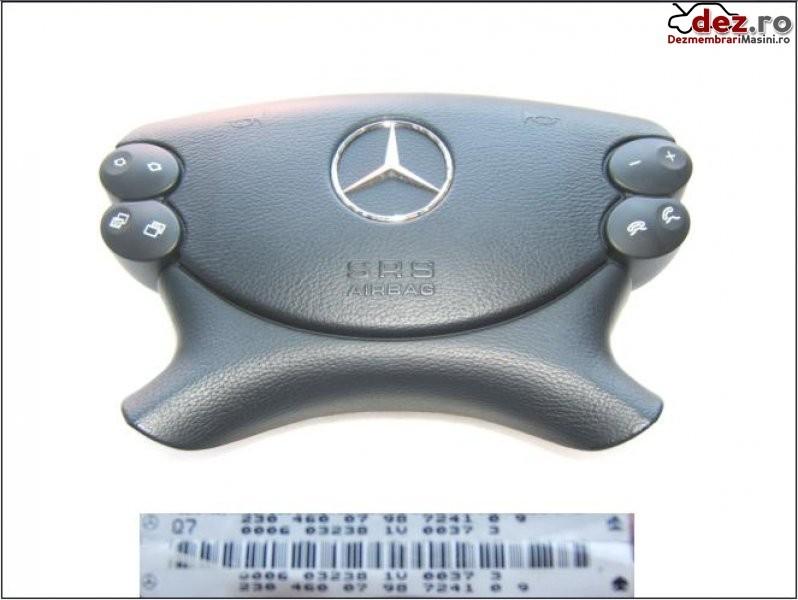 Mercedes airbag e211 sl230 clk209 cls 219 sl230 '01 '07 clk 209 '03 '10 Dezmembrări auto în Aiud, Alba Dezmembrari