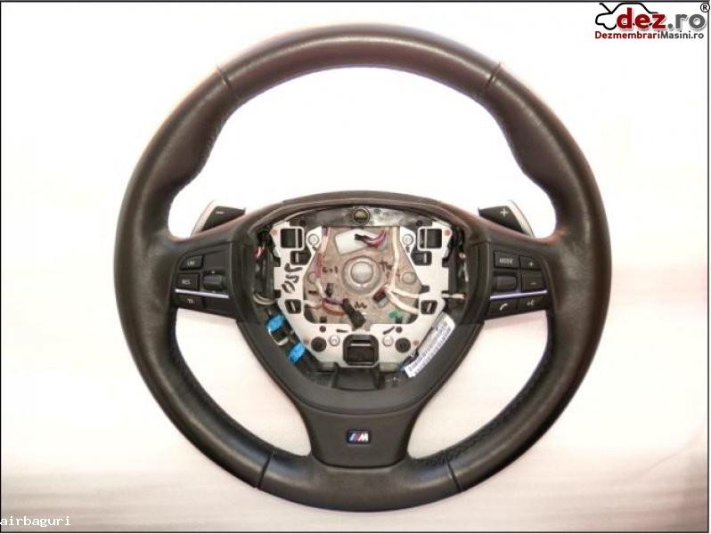 Bmw seria 7 f01 volan m piele si comenzi cu dsg  model 2009  2013   pret  350 euro  Dezmembrări auto în Aiud, Alba Dezmembrari