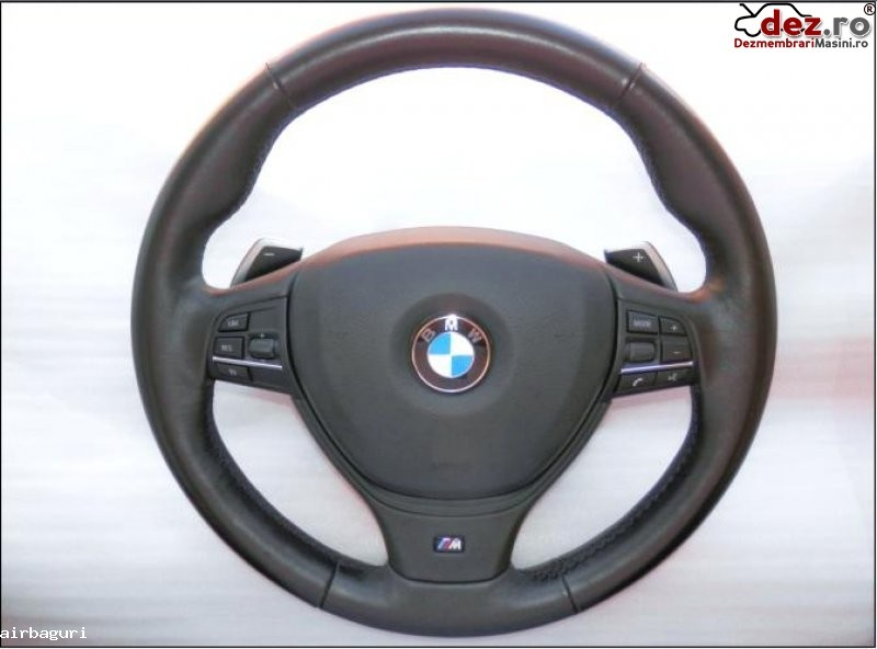 Bmw f10 airbag cu volan m piele si comenzi cu dsg model 2010 2013 pret 750 euro Dezmembrări auto în Aiud, Alba Dezmembrari