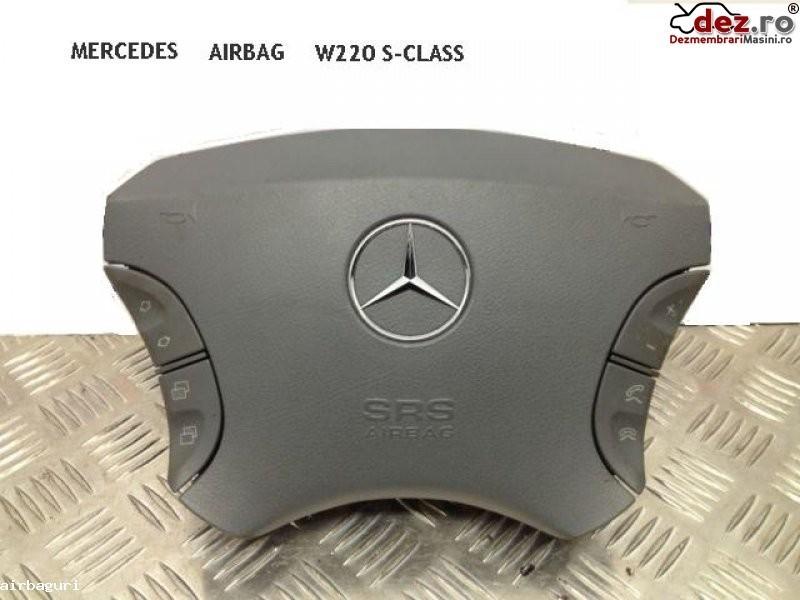 Airbag volan Mercedes S 500 2003 Piese auto în Aiud, Alba Dezmembrari