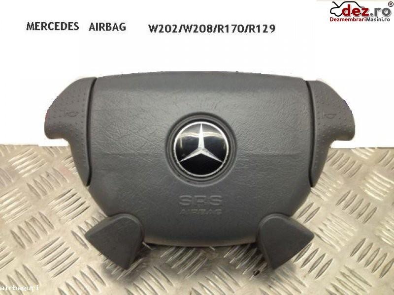 Airbag mercedes sl r129 gri 1996 1998 r170 w208 w202 amg pret 100 e Dezmembrări auto în Aiud, Alba Dezmembrari