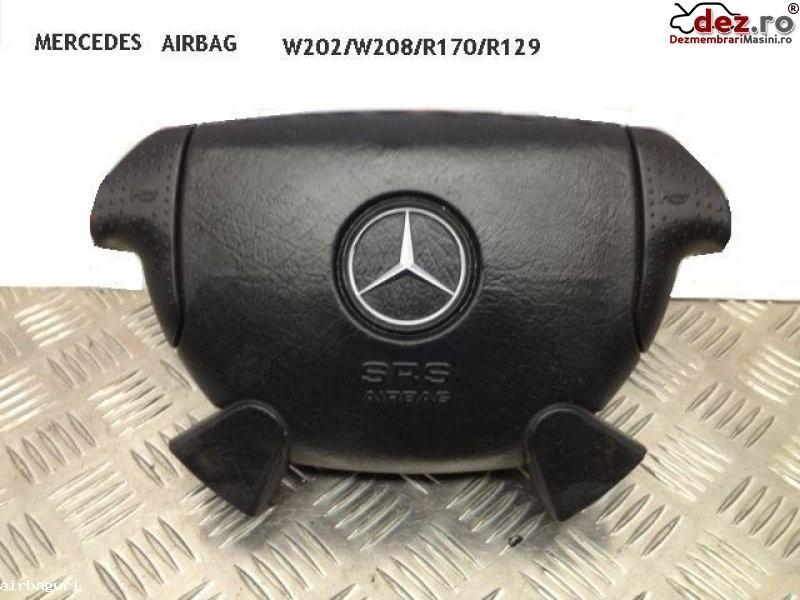 Airbag mercedes sl r129 negru 1996 1998 r170 w208 w202 amg pret 100 e Dezmembrări auto în Aiud, Alba Dezmembrari