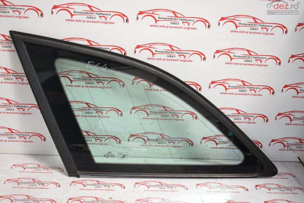 Geam Spate Stanga Caroserie Audi A4 B8 2009 Combi 564  Piese auto în Sighisoara, Mures Dezmembrari