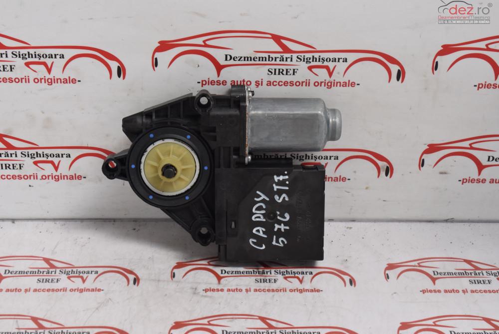 Motoras Macara Usa Stanga Fata Vw Caddy 2011 5k0959793 576  cod 5K0959793 Piese auto în Sighisoara, Mures Dezmembrari