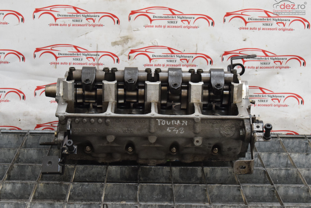 Chiulasa Vw Touran 1 9 Tdi Bkc 038103373r  548  Piese auto în Sighisoara, Mures Dezmembrari