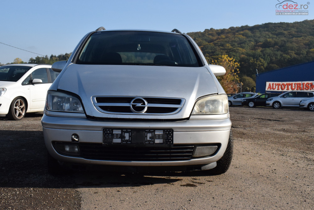 Dezmembrez Opel Zafira A 2 0 Y20 Dth 2004 593 Dezmembrări auto în Sighisoara, Mures Dezmembrari