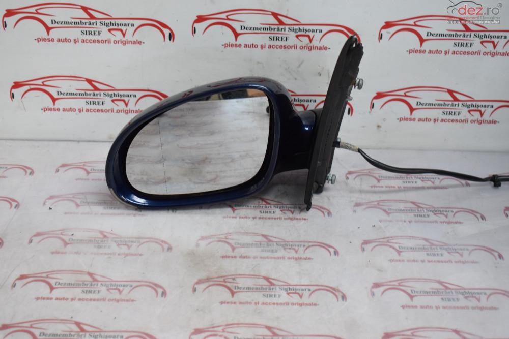 Oglinda Stanga Vw Golf 5 Albastru Ld5q Electrica 546 Piese auto în Sighisoara, Mures Dezmembrari