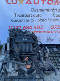 Motor Volkswagen Golf 5 1 6 Benzina Cod Bse / Bgu / Bsf Piese auto în Arad, Arad Dezmembrari