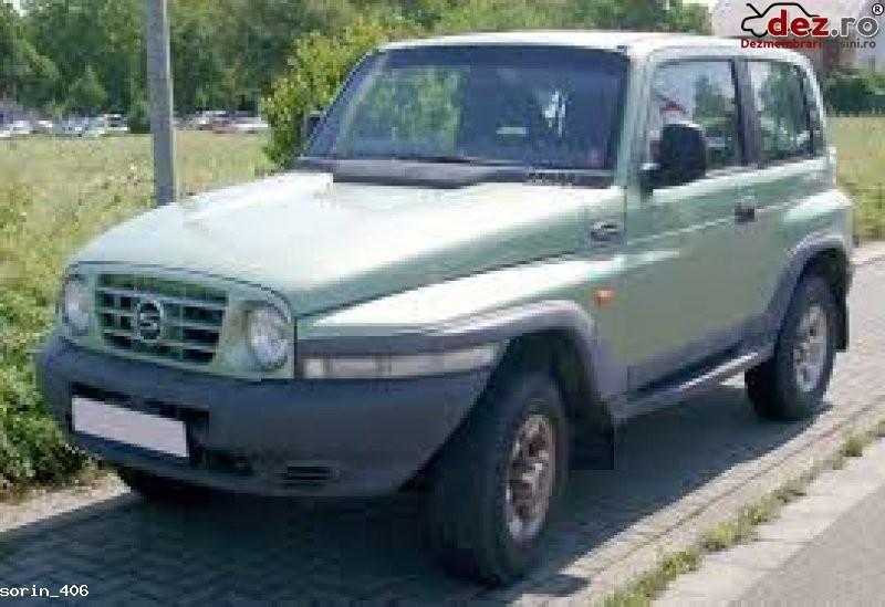 Dezmembrez korando 2002 2 9 diesel Dezmembrări auto în Lugoj, Timis Dezmembrari