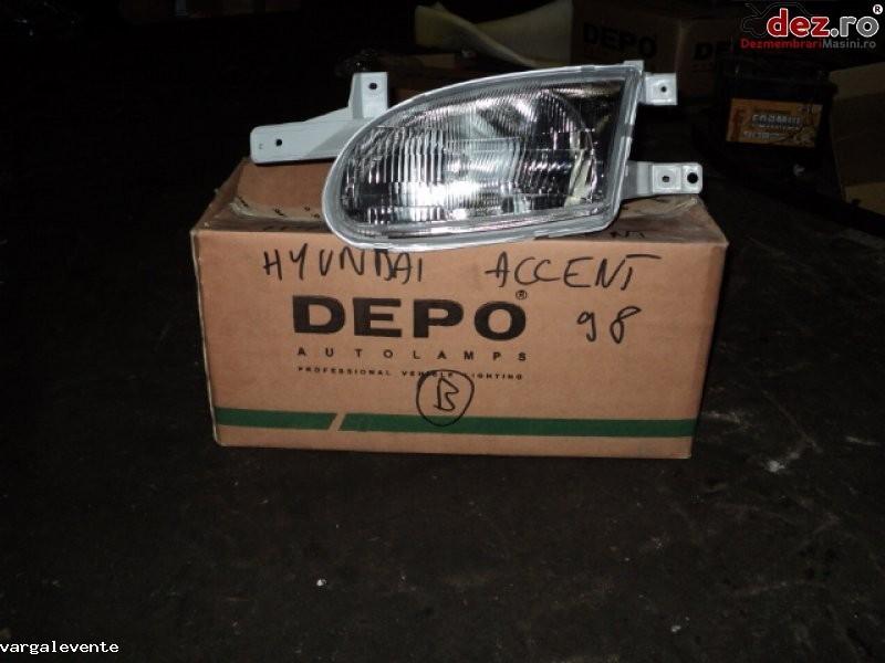 Far stanga Hyundai Accent 1997 Piese auto în Odorheiu Secuiesc, Harghita Dezmembrari