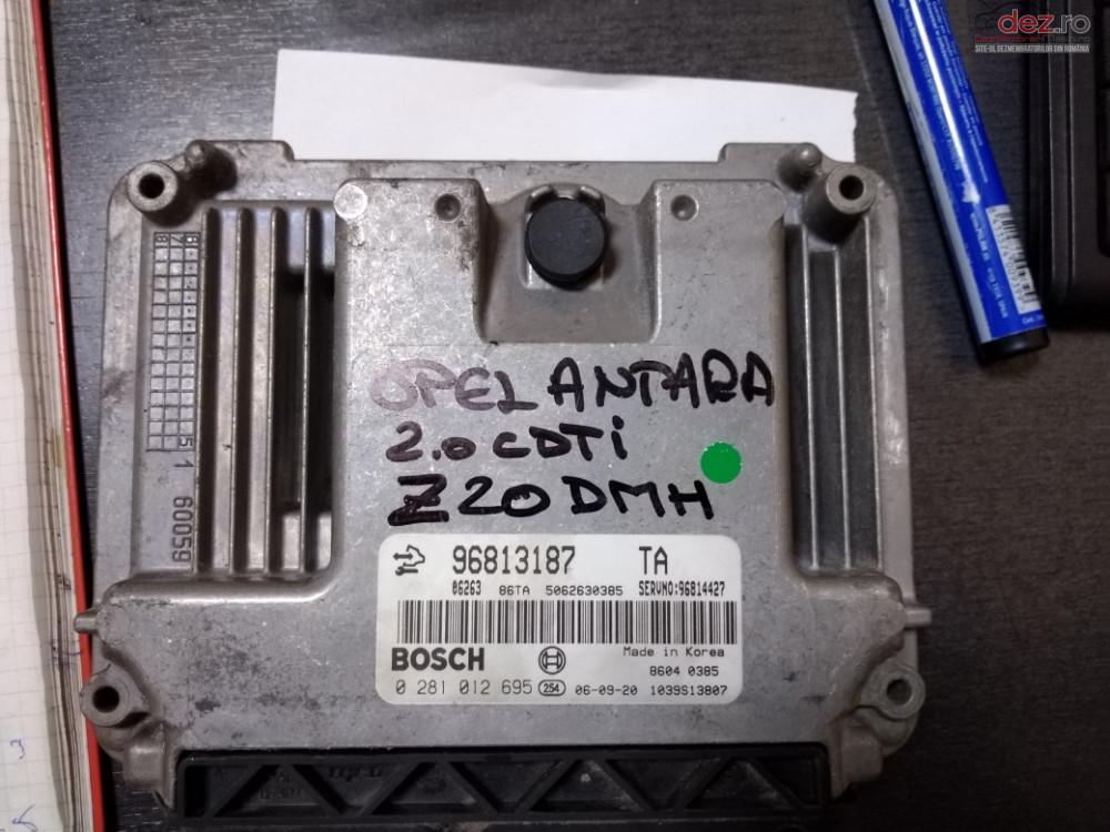 Ecu Calculator Motor Opel Antara 2 0cdti 96813187 0281012695  cod 96813187 Piese auto în Odorheiu Secuiesc, Harghita Dezmembrari
