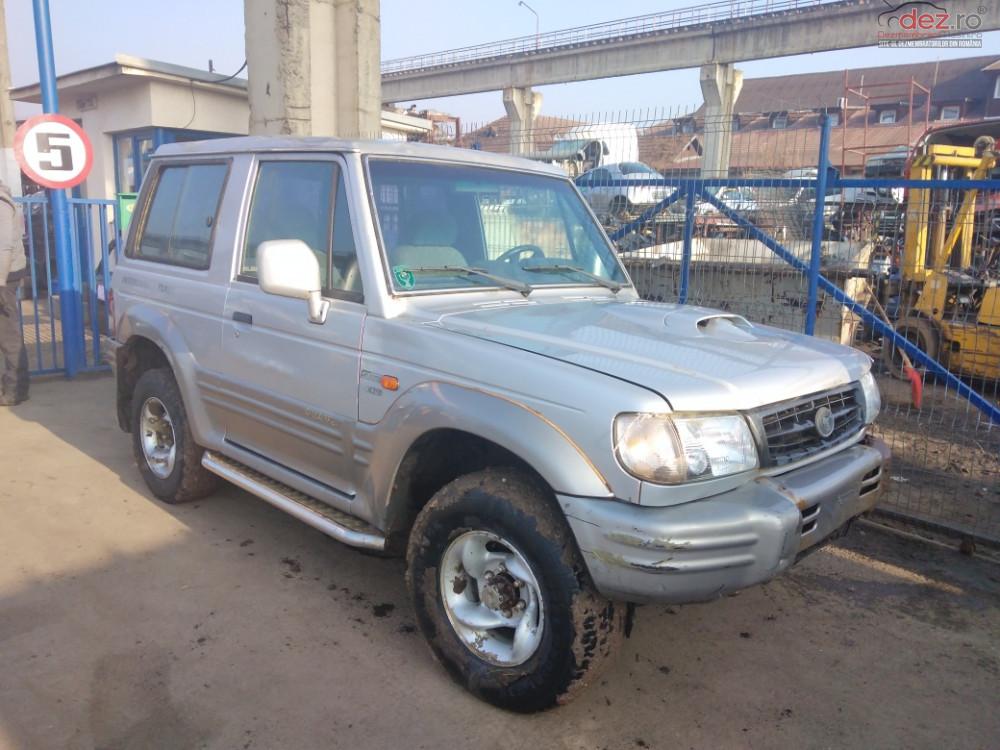 Dezmembrez Hyundai Galloper 2 5 Td Intercooler An 2000 Dezmembrări auto în Odorheiu Secuiesc, Harghita Dezmembrari