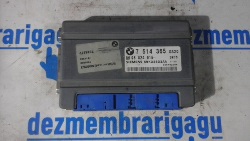 Calculator cutie de viteza BMW 520 E39 2000 cod 96024915 Piese auto în Petrachioaia, Ilfov Dezmembrari