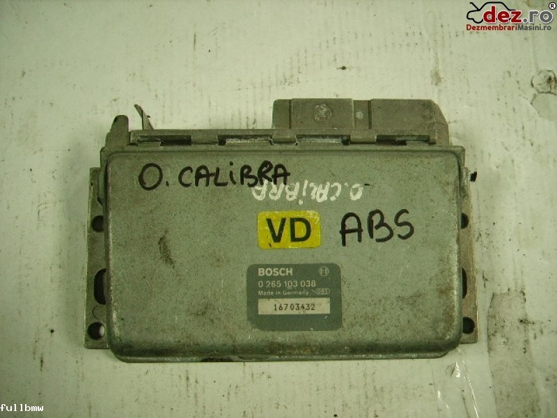 Calculator unitate abs Opel Calibra 1991 Piese auto în Urziceni, Ialomita Dezmembrari