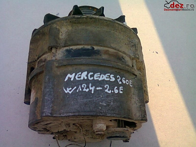Vand alternator mercedes 260e w124 2 6e 87' Dezmembrări auto în Urziceni, Ialomita Dezmembrari