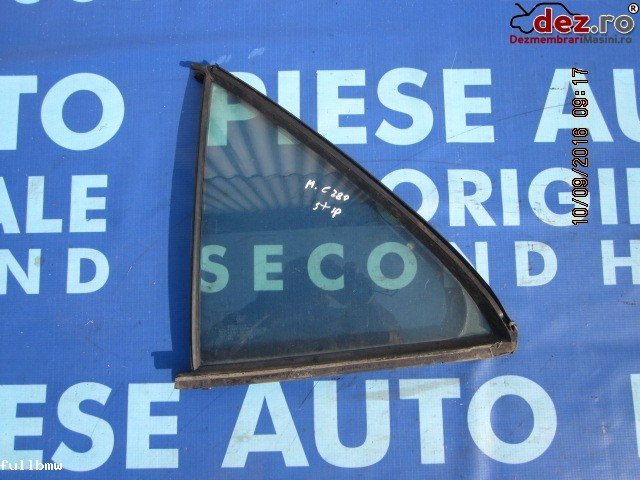 Geam triunghi Mercedes C 280 1995 Piese auto în Urziceni, Ialomita Dezmembrari