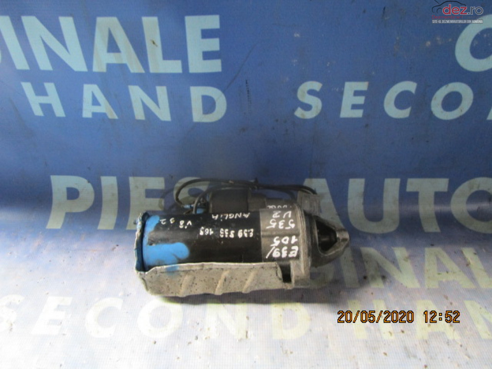 Electromotor Bmw E39 535i 3 5i M62s2 (volan Dreapta)  Piese auto în Urziceni, Ialomita Dezmembrari