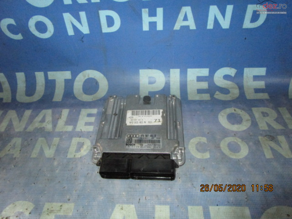 Calculator Motor (incomplet) Audi A6 C6 3 0tdi Quattro  4f0910401n  Piese auto în Urziceni, Ialomita Dezmembrari