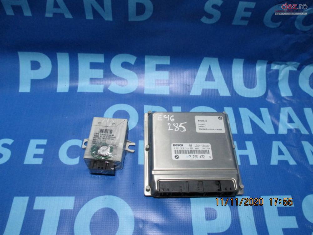 Calculator Motor Cu Cip Bmw E46 7786472 Piese auto în Urziceni, Ialomita Dezmembrari