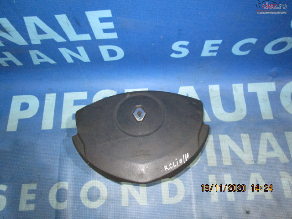 Airbag Volan Renault Clio 2003 8200114202a Piese auto în Urziceni, Ialomita Dezmembrari