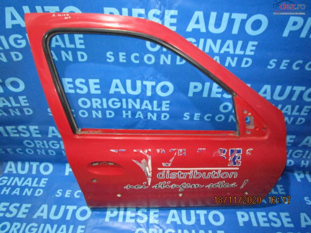 Portiere Fata Renault Clio Symbol 2003 Sedan Piese auto în Urziceni, Ialomita Dezmembrari