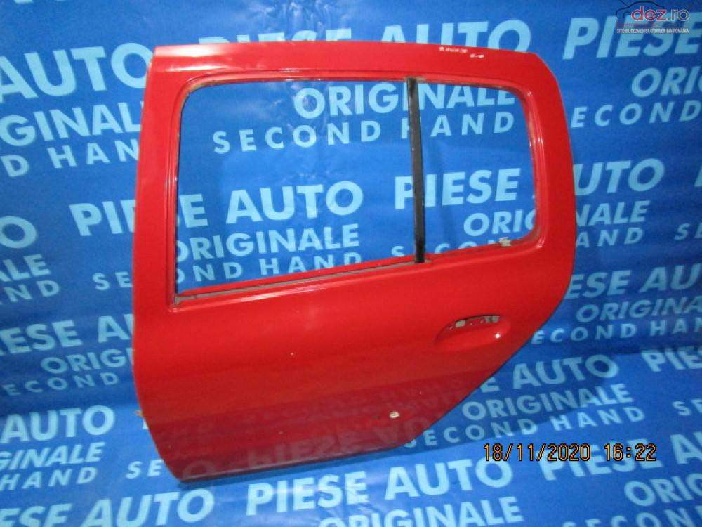 Portiere Spate Renault Clio Symbol 2003 Sedan Piese auto în Urziceni, Ialomita Dezmembrari