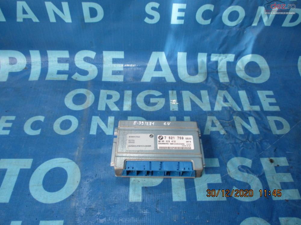 Calculator Cutie Viteze Bmw E39 2002 7521759 Piese auto în Urziceni, Ialomita Dezmembrari