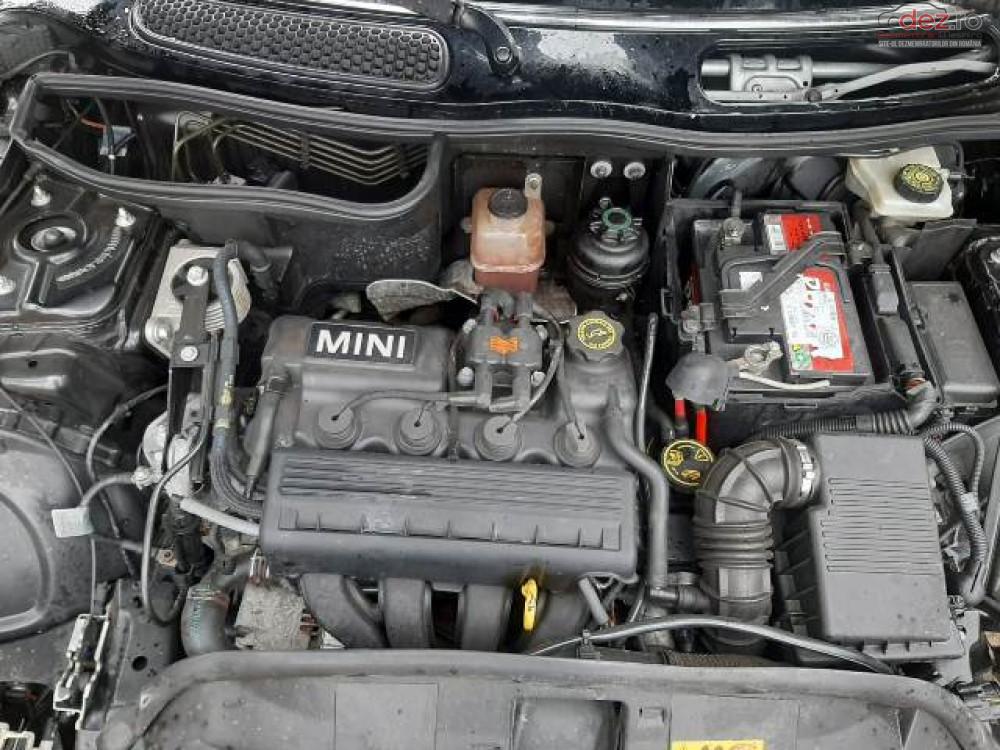 Motor Mini Cooper 1 6i (1598cc 85kw 116hp) 2001 Piese auto în Urziceni, Ialomita Dezmembrari