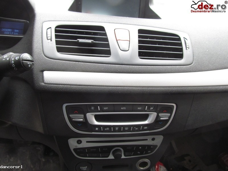 Consola bord Renault Megane 2009