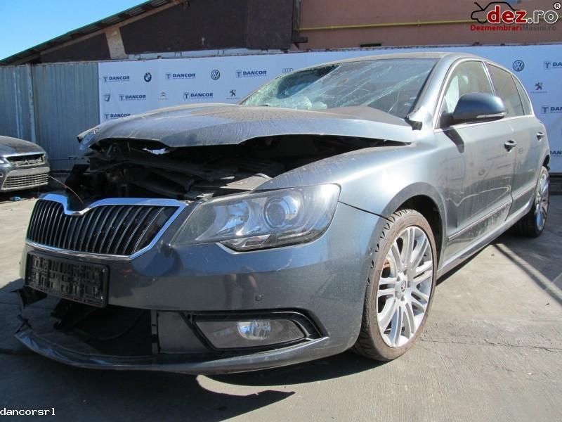 Dezmembrez Skoda Superb 2 0tdi Din 2014   140cp   103kw   Cffb   E5  Dezmembrări auto în Ploiesti, Prahova Dezmembrari