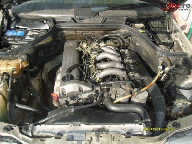 Vand motor complet +cutie viteze 5+1 2 5 diesel pentru mercedes benz 124 an Dezmembrări auto în Tecuci, Galati Dezmembrari