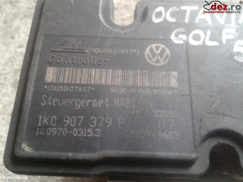 Pompa ABS Volkswagen Golf 5 2007 cod 1K0 907 379 P Piese auto în Craiova, Dolj Dezmembrari