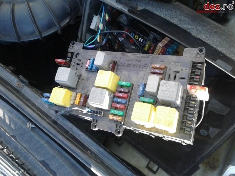 Calculator confort Mercedes Vito W639 2006 cod 639 545 02 01[04] Piese auto în Craiova, Dolj Dezmembrari