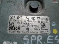 Calculator Ecu Mercedes Sprinter W906 2 2cdi Euro 4 A6461500277 cod A 646 150 02 77 Piese auto în Craiova, Dolj Dezmembrari