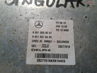 Calculator Ecu Mercedes Sprinter W906 2 2cdi Euro 5 A6519000601 cod A 651 900 06 01 Piese auto în Craiova, Dolj Dezmembrari